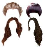 波および巻き毛の2018年の毛