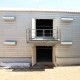 Casa de galinha de aço de Prafab com equipamentos das aves domésticas do jogo cheio