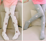 Katoenen van de Jonge geitjes van kinderen Legging met Dierlijk Patroon (TA610)