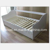 Festes Holz-Sofa mit Bett