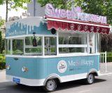 2017 de het Hete Voedsel van de Straat van de Verkoop Elektrische Mobiele Snelle en Vrachtwagen van het Roomijs
