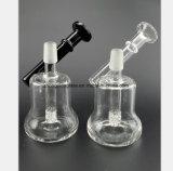 De transparante, Zwarte Rokende Pijp van het Glas van het Recycling van de Tabak van de Filter van de Pijp van het Glas