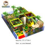 Apparatuur van de Speelplaats van de Wildernis van de Jonge geitjes van het Ontwerp van Tongyao de Beste Binnen met Ce, TUV Certificatie (ty-170429-1)