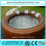 يتيح تركيب مستديرة قابل للنفخ خارجا باب منتجع مياه استشفائيّة ([ف050010] [بروون])