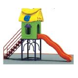 As crianças de creches/filhos ginásio ao ar livre exercício de plástico Playground Equipamentos para venda parque infantil exterior de plástico no exterior (UM-126-2)