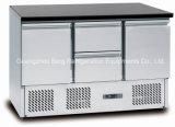 Edelstahl-Bildschirmanzeige-Kühlraum für Pizza