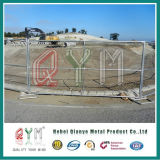 Heißer eingetauchter galvanisierter Stahlaufbau-temporärer Zaun und Gatter