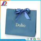 Usine de papier Fodable Guangzhou un sac de shopping avec ruban