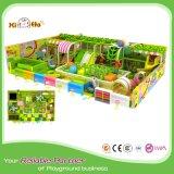 Heißer Verkaufs-grüne Farben-Kind-Spiel-Spielplatz Innen