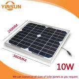comitato solare 10W per il sistema di energia solare