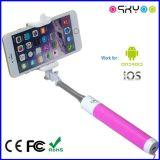 Portable Foldable com vara de Bluetooth Selfie da alta qualidade a mini