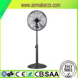 Ventilateur de stand en métal de 16 pouces avec 4 la lame Ce/Rohs/GS