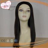 El pelo rubio de la Virgen mezcló la peluca marrón clara de la caída de la venda de las mujeres ningunas explosiones