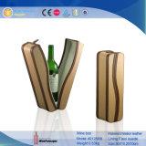 Fenêtre claire de luxe en cuir de PU Vin boîte avec bande (1881R7)