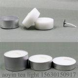 candela bianca di Tealight della cera paraffinica 12g