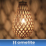 Antique Hot-Sell colgante de madera de la luz interior o exterior
