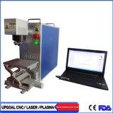 Type de machine de marquage au laser à fibre Portable pour matériaux métalliques