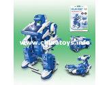 3 en 1 DIY de Control Remoto de plástico Robot juguete (661830)