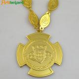 Kundenspezifisches Metallpin-Abzeichen mit Überzug-Gold