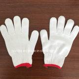Нейлоновые вязаные рукавицы дешевые рабочие перчатки