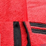 Вышитое полотенце спортов Microfiber Терри с карманн застежки -молнии