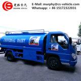 Forland 4X2 VEÍCULO de leite em aço inoxidável 5m3 do caminhão-tanque de leite