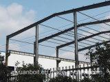 Construction en acier de niveau élevé d'approvisionnement pour le bureau, atelier, entrepôt, entrepôt