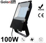 IP65 100W 120lm/W super dünnes SMD LED-Flut-Licht mit 5 Jahren Garantie-hängend