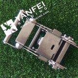 25mmのステンレス鋼はラチェットのための304/316のラチェットのバックル結ぶ