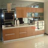 Armário de cozinha moderno da porta da laca (ZH-025)