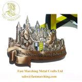 Het douane Aangepaste Medaillon van de Toekenning van Ganas van de Prijs van de Fabriek van de Medaille van de Afwerker