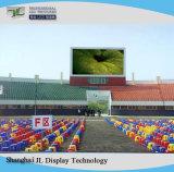 Visualizzazione di LED fissa completa esterna dell'installazione di colore P8 per la pubblicità dello schermo