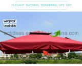 ترويجيّ [هيغقوليتي] حديقة فناء ألومنيوم مركزيّ [بول] مظلة لأنّ فندق ظهر مركب جانب مسبح