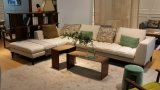 En forma de L mobiliario moderno salón sofá