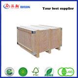 Caja de embalaje contrachapado de madera contrachapada de banda de acero/caja de embalaje para la venta