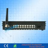 Bureau d'échange téléphonique FXS/FXO/RTC/Port GSM PBX MS108-GSM