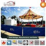 Bunte im Freienereignis-Zelte, rundes Festzelt-Zelt mit buntem Dach-Deckel