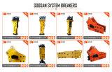 Interruttore idraulico del martello di Soosan per l'escavatore 28-35ton