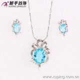 Synthetic CZ (62562)를 가진 Xuping Fashion Silver Jewelry Set