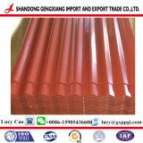 Strato ondulato d'acciaio moderno del tetto di colore PPGI/PPGL