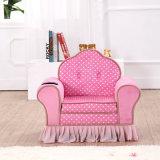 Princess Style canapé de coupe en velours rose
