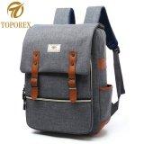 Saco para computador portátil promocionais escola viagem de boa qualidade mochila de ressalto duplo