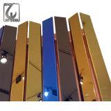 201 plaque enduite d'acier inoxydable du miroir 8K de Golded d'or de Ti