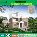Casa prefabricada del lujo moderno para la vida de la familia