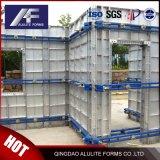 Alumínio reutilizáveis Descofragem para construção