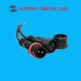 LEDスクリーンのコネクターの防水コネクター2pinのプラグ