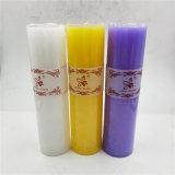 Mehrfarbige Farbe und ja handgemachte Hochzeits-Pfosten-Kerze-Bevorzugungen
