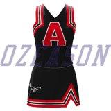 Печатание цифров обжатия Ozeason отсутствие MOQ линия платье Cheerleading