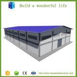 Estructura de acero de 1000 metros cuadrados de almacén de cemento Diseño