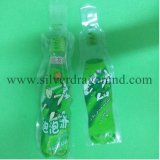 Sacchetto di plastica su ordinazione con figura della bottiglia per la bevanda, bevande, imballanti